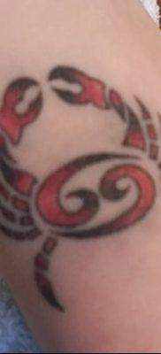 фото тату знак зодиака Рак от 21.10.2017 №004 – tattoo sign of the zodiac Cancer