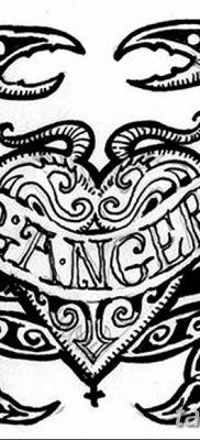 фото тату знак зодиака Рак от 21.10.2017 №014 – tattoo sign of the zodiac Cancer