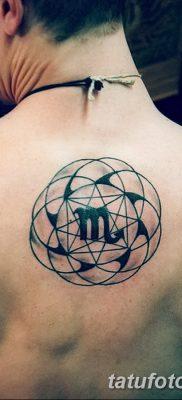 фото тату знак зодиака Скорпион от 21.10.2017 №010 – tattoo sign of the zodiac Scorpio