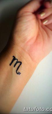фото тату знак зодиака Скорпион от 21.10.2017 №023 – tattoo sign of the zodiac Scorpio
