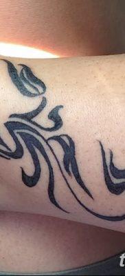 фото тату знак зодиака Скорпион от 21.10.2017 №024 – tattoo sign of the zodiac Scorpio
