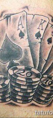 фото тату игральные карты королева от 21.10.2017 №018 – tatoo playing cards queen