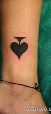 фото тату игральные карты королева от 21.10.2017 №020 – tatoo playing cards queen