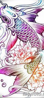 фото тату карась от 28.10.2017 №001 – carp tattoo – tatufoto.com