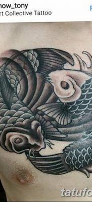 фото тату карась от 28.10.2017 №003 – carp tattoo – tatufoto.com
