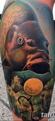 фото тату карась от 28.10.2017 №004 – carp tattoo – tatufoto.com