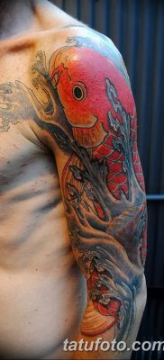 фото тату карась от 28.10.2017 №005 – carp tattoo – tatufoto.com
