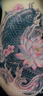 фото тату карась от 28.10.2017 №010 – carp tattoo – tatufoto.com