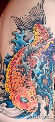 фото тату карась от 28.10.2017 №015 – carp tattoo – tatufoto.com