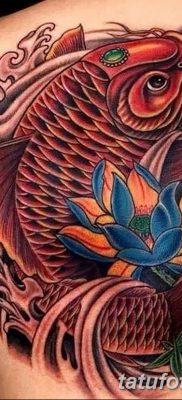 фото тату карась от 28.10.2017 №017 – carp tattoo – tatufoto.com