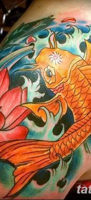 фото тату карась от 28.10.2017 №019 – carp tattoo – tatufoto.com