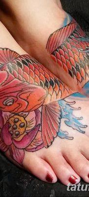 фото тату карась от 28.10.2017 №024 – carp tattoo – tatufoto.com