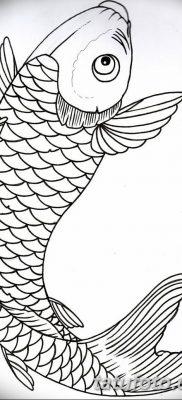 фото тату карась от 28.10.2017 №025 – carp tattoo – tatufoto.com