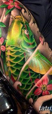фото тату карась от 28.10.2017 №027 – carp tattoo – tatufoto.com
