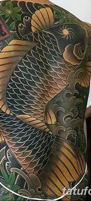 фото тату карась от 28.10.2017 №028 – carp tattoo – tatufoto.com