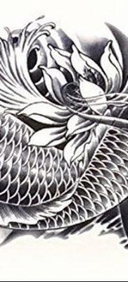 фото тату карась от 28.10.2017 №029 – carp tattoo – tatufoto.com