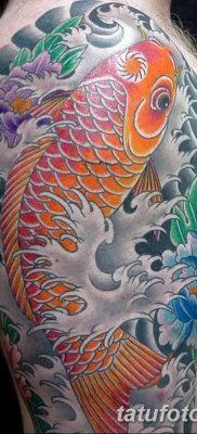 фото тату карась от 28.10.2017 №033 – carp tattoo – tatufoto.com