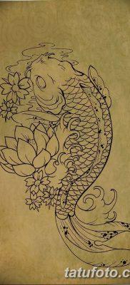 фото тату карась от 28.10.2017 №034 – carp tattoo – tatufoto.com