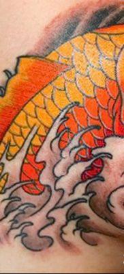 фото тату карась от 28.10.2017 №036 – carp tattoo – tatufoto.com