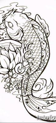 фото тату карась от 28.10.2017 №037 – carp tattoo – tatufoto.com