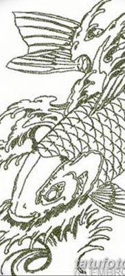 фото тату карась от 28.10.2017 №038 – carp tattoo – tatufoto.com