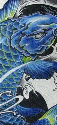 фото тату карась от 28.10.2017 №039 – carp tattoo – tatufoto.com