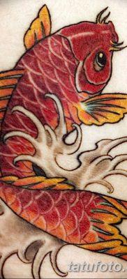 фото тату карась от 28.10.2017 №040 – carp tattoo – tatufoto.com