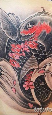 фото тату карась от 28.10.2017 №043 – carp tattoo – tatufoto.com