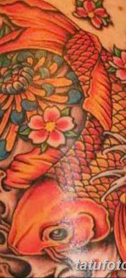 фото тату карась от 28.10.2017 №044 – carp tattoo – tatufoto.com