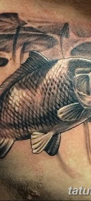 фото тату карась от 28.10.2017 №045 – carp tattoo – tatufoto.com