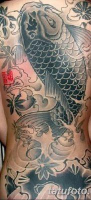 фото тату карась от 28.10.2017 №048 – carp tattoo – tatufoto.com