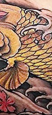 фото тату карась от 28.10.2017 №049 – carp tattoo – tatufoto.com