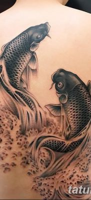 фото тату карась от 28.10.2017 №050 – carp tattoo – tatufoto.com