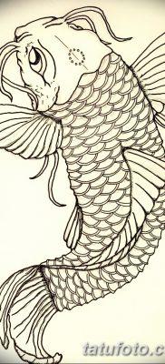 фото тату карась от 28.10.2017 №051 – carp tattoo – tatufoto.com