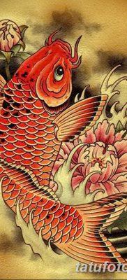 фото тату карась от 28.10.2017 №054 – carp tattoo – tatufoto.com