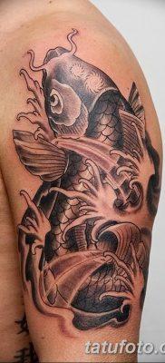 фото тату карась от 28.10.2017 №056 – carp tattoo – tatufoto.com