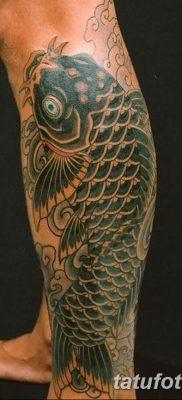 фото тату карась от 28.10.2017 №060 – carp tattoo – tatufoto.com