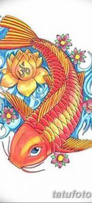фото тату карась от 28.10.2017 №063 – carp tattoo – tatufoto.com