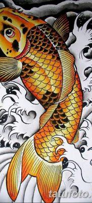 фото тату карась от 28.10.2017 №065 – carp tattoo – tatufoto.com