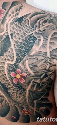 фото тату карась от 28.10.2017 №066 – carp tattoo – tatufoto.com