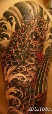фото тату карась от 28.10.2017 №068 – carp tattoo – tatufoto.com