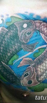 фото тату карась от 28.10.2017 №069 – carp tattoo – tatufoto.com