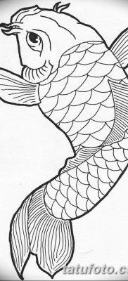 фото тату карась от 28.10.2017 №071 – carp tattoo – tatufoto.com