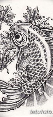 фото тату карась от 28.10.2017 №072 – carp tattoo – tatufoto.com
