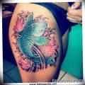 фото тату карась от 28.10.2017 №074 - carp tattoo - tatufoto.com