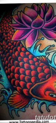 фото тату карась от 28.10.2017 №075 – carp tattoo – tatufoto.com