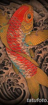 фото тату карась от 28.10.2017 №077 – carp tattoo – tatufoto.com