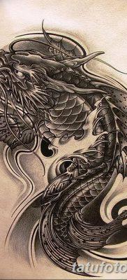 фото тату карась от 28.10.2017 №079 – carp tattoo – tatufoto.com