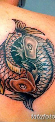 фото тату карась от 28.10.2017 №080 – carp tattoo – tatufoto.com