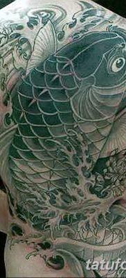 фото тату карась от 28.10.2017 №082 – carp tattoo – tatufoto.com